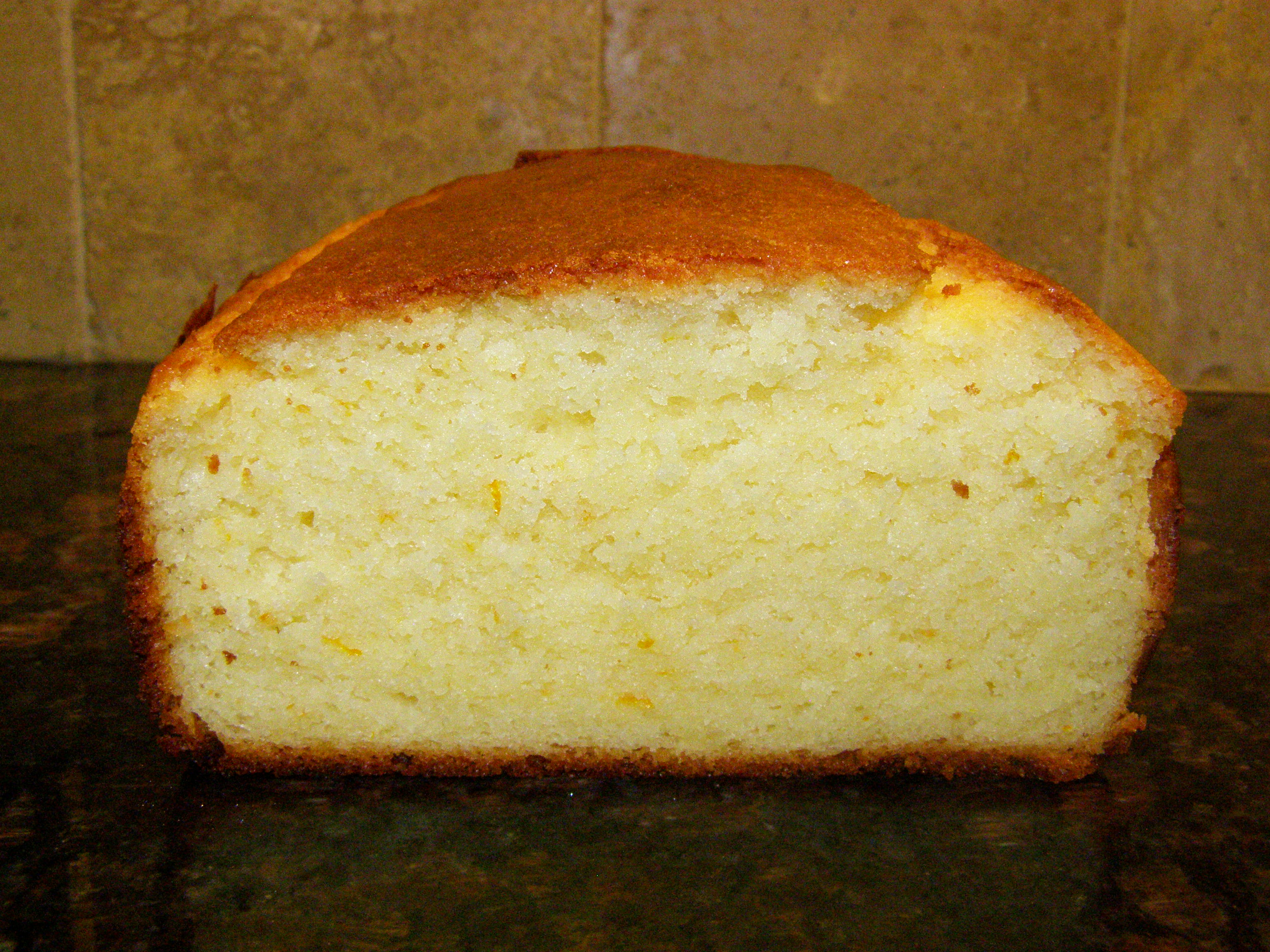 Easy Orange Pound Cake Recipe