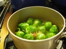 Brussel sprouts that you will love! and so green!