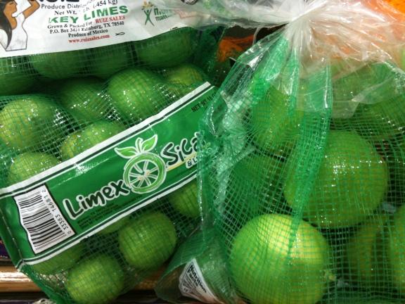 Key Limes and Persian Limes